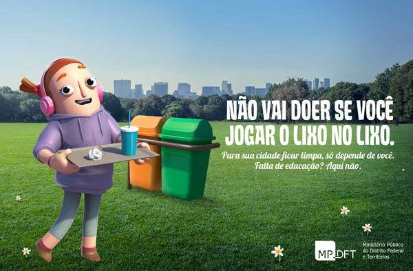Anuncio Revista Campanha Cidade Limpa MPDFT